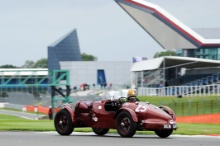 Silverstone Classic 28-30 July 2017At the Home of British MotorsportKidston Trophy Pre War BLAKEMORE Robert, DIFFEY Simon,  Aston Martin Speed ModelFree for editorial use