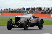 Silverstone Classic 28-30 July 2017At the Home of British MotorsportKidston Trophy Pre WarHENDERSON Rory, FELLOWES Robert, Vauxhall 30/98 Brooklands SpecialFree for editorial use