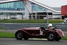 Silverstone Classic 28-30 July 2017At the Home of British MotorsportKidston Trophy Pre WarALUSA Lukas, HALUSA Martin, Alfa Romeo 8C Free for editorial use