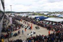 Silverstone Classic 28-30 July 2017At the Home of British MotorsportFIA Masters F1 Assembly AreaFree for editorial use onlyPhoto credit –  JEP