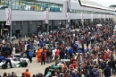 Silverstone Classic 28-30 July 2017At the Home of British MotorsportFIA Masters F1 Cars assemble in the paddockFree for editorial use onlyPhoto credit –  JEP