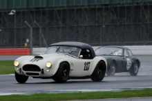 Silverstone Classic 28-30 July 2017At the Home of British MotorsportGallet Trophy for Pre66 GTHENDERSON Rory, FISKEN Gregor, AC CobraFree for editorial use onlyPhoto credit –  JEP