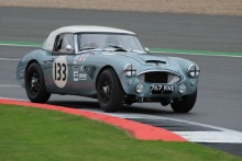 Silverstone Classic 28-30 July 2017At the Home of British MotorsportGallet Trophy for Pre66 GTBELL Alex, Austin Healey 3000Free for editorial use onlyPhoto credit –  JEP