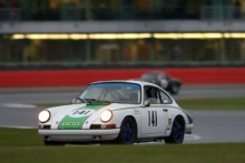 Silverstone Classic 28-30 July 2017At the Home of British MotorsportGallet Trophy for Pre66 GTJONES Steve, BARRIE Robert, Porsche 911Free for editorial use onlyPhoto credit –  JEP
