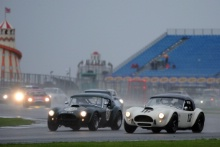 Silverstone Classic 28-30 July 2017At the Home of British MotorsportGallet Trophy for Pre66 GTBARNES Dominic, MCINTYRE Jamie, AC Cobra Free for editorial use onlyPhoto credit –  JEP