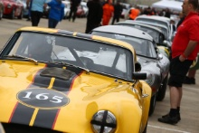 Silverstone Classic 28-30 July 2017At the Home of British MotorsportGallet Trophy for Pre66 GTTHOMPSON Peter, HALES Mark, TVR GriffithFree for editorial use onlyPhoto credit –  JEP