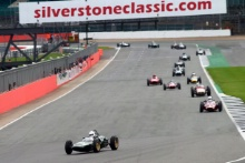 Silverstone Classic 28-30 July 2017 At the Home of British Motorsport MORTON Alex, Lotus 21 939/952Free for editorial use only Photo credit – JEP