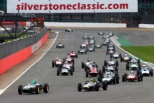 Silverstone Classic 28-30 July 2017 At the Home of British Motorsport Race StartFree for editorial use only Photo credit – JEP
