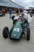 Silverstone Classic 28-30 July 2017At the Home of British MotorsportMaserati HPGCA Pre 66 GPFree for editorial use onlyPhoto credit –  JEP