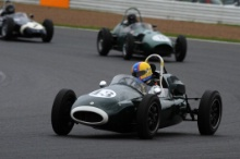 Silverstone Classic 28-30 July 2017At the Home of British MotorsportMaserati HPGCA Pre 66 GPBERNBERG Robi, Cooper T43Free for editorial use onlyPhoto credit –  JEP