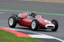 Silverstone Classic 28-30 July 2017At the Home of British MotorsportMaserati HPGCA Pre 66 GPBAUDIN Michel, Cooper T45Free for editorial use onlyPhoto credit –  JEP