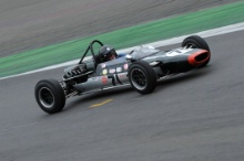 Silverstone Classic 28-30 July 2017At the Home of British MotorsportMaserati HPGCA Pre 66 GPBAILLIE Alan, Cooper T71/73Free for editorial use onlyPhoto credit –  JEP