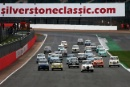 Silverstone Classic 28-30 July 2017 At the Home of British Motorsport Race Start, Steve Soper leadsFree for editorial use only Photo credit – JEP