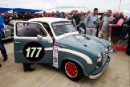 Silverstone Classic 28-30 July 2017At the Home of British MotorsportCelebrity RaceJORDAN Mike, DONALD HowardFree for editorial use onlyPhoto credit –  JEP