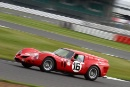 Silverstone Classic 28-30 July 2017At the Home of British MotorsportHalusa - Ferrari Breadvan Free for editorial use onlyPhoto credit –  JEP