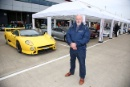 Silverstone Classic 28-30 July 2017 At the Home of British Motorsport GeneralDon Law with the Jaguar XJ220 displayFree for editorial use only Photo credit – JEP