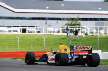 Silverstone Classic 28-30 July 2017 At the Home of British Motorsport GeneralNick Yelloly (GBR) Williams FW14BFree for editorial use only Photo credit – JEP