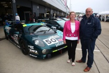 Silverstone Classic 28-30 July 2017At the Home of British MotorsportJaguar XJ220, Elizabeth WalkinshawFree for editorial use onlyPhoto credit –  JEP