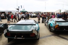 Silverstone Classic 28-30 July 2017At the Home of British MotorsportJaguar XJ220Free for editorial use onlyPhoto credit –  JEP