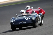 Silverstone Classic 28-30 July 2017At the Home of British MotorsportStirling Moss pre 61 Sports cars GILLETT Charles, SMITH Steve, Willment ClimaxFree for editorial use onlyPhoto credit –  JEP