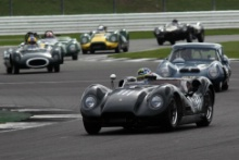 Silverstone Classic 28-30 July 2017At the Home of British MotorsportStirling Moss pre 61 Sports cars HÜBNER Hans, Lister Jaguar Knobbly Free for editorial use onlyPhoto credit –  JEP