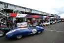 Silverstone Classic 28-30 July 2017At the Home of British MotorsportStirling Moss pre 61 Sports cars KENT Richard, Lister Costin JaguarFree for editorial use onlyPhoto credit –  JEP