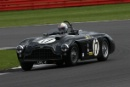 Silverstone Classic 28-30 July 2017At the Home of British MotorsportStirling Moss pre 61 Sports cars Aston MartinFree for editorial use onlyPhoto credit –  JEP