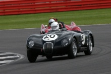 Silverstone Classic 28-30 July 2017At the Home of British MotorsportStirling Moss pre 61 Sports cars BENNETT Phil, COYNE Dave, Lister Jaguar KnobblyFree for editorial use onlyPhoto credit –  JEP