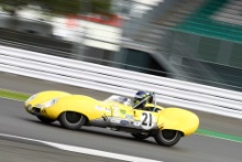 Silverstone Classic 28-30 July 2017At the Home of British MotorsportStirling Moss pre 61 Sports cars  YATES Jason, MITCHELL Ben, Lotus XI Free for editorial use onlyPhoto credit –  JEP