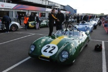 Silverstone Classic 28-30 July 2017At the Home of British MotorsportStirling Moss pre 61 Sports cars MICHAEL Costas, Lotus XIFree for editorial use onlyPhoto credit –  JEP