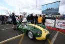 Silverstone Classic 28-30 July 2017At the Home of British MotorsportStirling Moss pre 61 Sports cars MINSHAW Jon, Lister KnobblyFree for editorial use onlyPhoto credit –  JEP