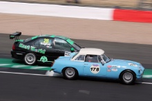 Silverstone Classic 20-22 July 2018At the Home of British MotorsportMG's Free for editorial use onlyPhoto credit – JEP