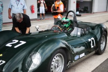 Silverstone Classic 20-22 July 2018At the Home of British Motorsport27 Stefan Ziegler / Martin Stretton, Lister Jaguar KnobblyFree for editorial use onlyPhoto credit – JEP