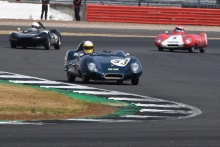 Silverstone Classic 20-22 July 2018At the Home of British Motorsport53 Andrea Stortoni/Richard Postins, Lotus XI Le MansFree for editorial use onlyPhoto credit – JEP
