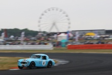 Silverstone Classic 20-22 July 2018At the Home of British Motorsport4 Theo Hunt/Mike Grant-Peterkin, Austin Healey 3000Free for editorial use onlyPhoto credit – JEP