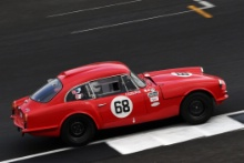 Silverstone Classic 20-22 July 2018At the Home of British Motorsport68 Simon Drabble/Alexander Drabble, Reliant Sabre SixFree for editorial use onlyPhoto credit – JEP