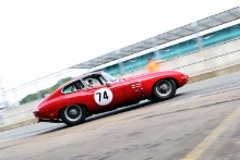 Silverstone Classic 20-22 July 2018At the Home of British Motorsport74 Mike Wrigley, Jaguar E-typeFree for editorial use onlyPhoto credit – JEP