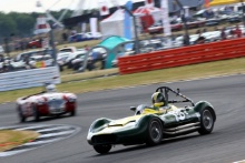 Silverstone Classic 20-22 July 2018At the Home of British Motorsport56 Nick Riley, Lister MaseratiFree for editorial use onlyPhoto credit – JEP