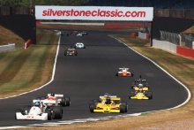 Silverstone Classic 20-22 July 2018At the Home of British Motorsport21 Andrew Haddon, Hesketh 308CFree for editorial use onlyPhoto credit – JEP