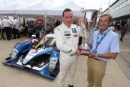 Silverstone Classic 20-22 July 2018At the Home of British Motorsport7 David Porter, Peugeot 908 with the Stuart Graham Award Scarf and Goggles most admired competition car Free for editorial use onlyPhoto credit – JEP