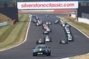 Silverstone Classic 20-22 July 2018At the Home of British MotorsportAston Martin Safety CarFree for editorial use onlyPhoto credit – JEP