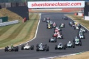 Silverstone Classic 20-22 July 2018At the Home of British MotorsportStart 11 Jon Fairley, Brabham BT11/1Free for editorial use onlyPhoto credit – JEP