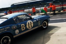 Silverstone Classic 20-22 July 2018At the Home of British Motorsport11 Larry Tucker, Shelby Mustang GT350Free for editorial use onlyPhoto credit – JEP