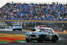 Silverstone Classic 20-22 July 2018At the Home of British Motorsport133 Alex Bell/Jeremy Welch, Austin Healey 3000Free for editorial use onlyPhoto credit – JEP