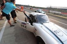 Silverstone Classic 20-22 July 2018At the Home of British MotorsportJake Hill, Lotus Elan Free for editorial use onlyPhoto credit – JEP