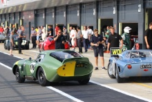 Silverstone Classic 20-22 July 2018At the Home of British Motorsport176 David Hart/Olivier Hart, AC Cobra Daytona CoupeFree for editorial use onlyPhoto credit – JEP