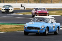 Silverstone Classic 20-22 July 2018At the Home of British Motorsport178 Philip Danby, MGBFree for editorial use onlyPhoto credit – JEP