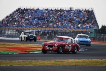 Silverstone Classic 20-22 July 2018At the Home of British Motorsport207 Crispin Harris/James Wilmoth, Austin Healey 3000Free for editorial use onlyPhoto credit – JEP