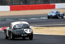 Silverstone Classic 20-22 July 2018At the Home of British Motorsport21 Graeme Dodd/James Dodd, Jaguar E-TypeFree for editorial use onlyPhoto credit – JEP