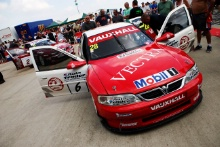 Silverstone Classic 20-22 July 2018At the Home of British Motorsport28 Jason Hughes, Vauxhall VectraFree for editorial use onlyPhoto credit – JEP